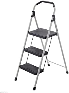 gorilla ladders 3 step compact steel step stool