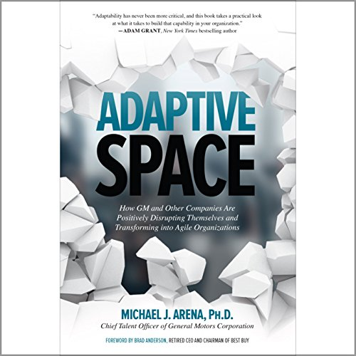 Adaptive Space audiobook cover art