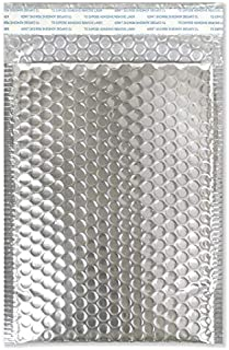 Drax Mailers Metallic Bubble Mailers - 25 Pack Silver #0 6