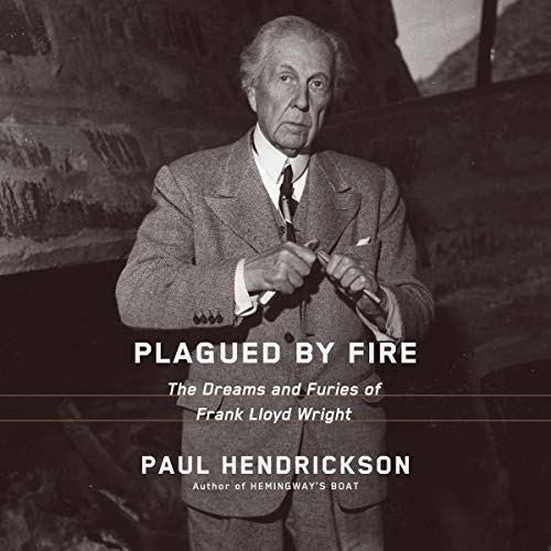 Plagued by Fire audiobook cover art