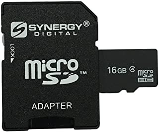Nokia N-Gage QD Cell Phone Memory Card 16GB microSDHC Memory Card with SD Adapter