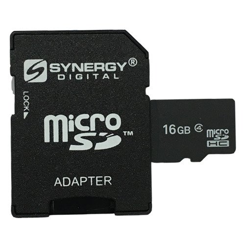 AEE AP10 Pro Quadcopter Drone Memory Card 16GB microSDHC Memory Card with SD Adapter