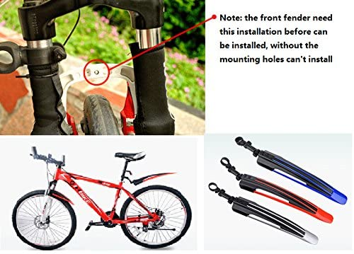Rear Mudguard Mountain Bike Fenders Cycling Accessories Road Bicycle Parts
