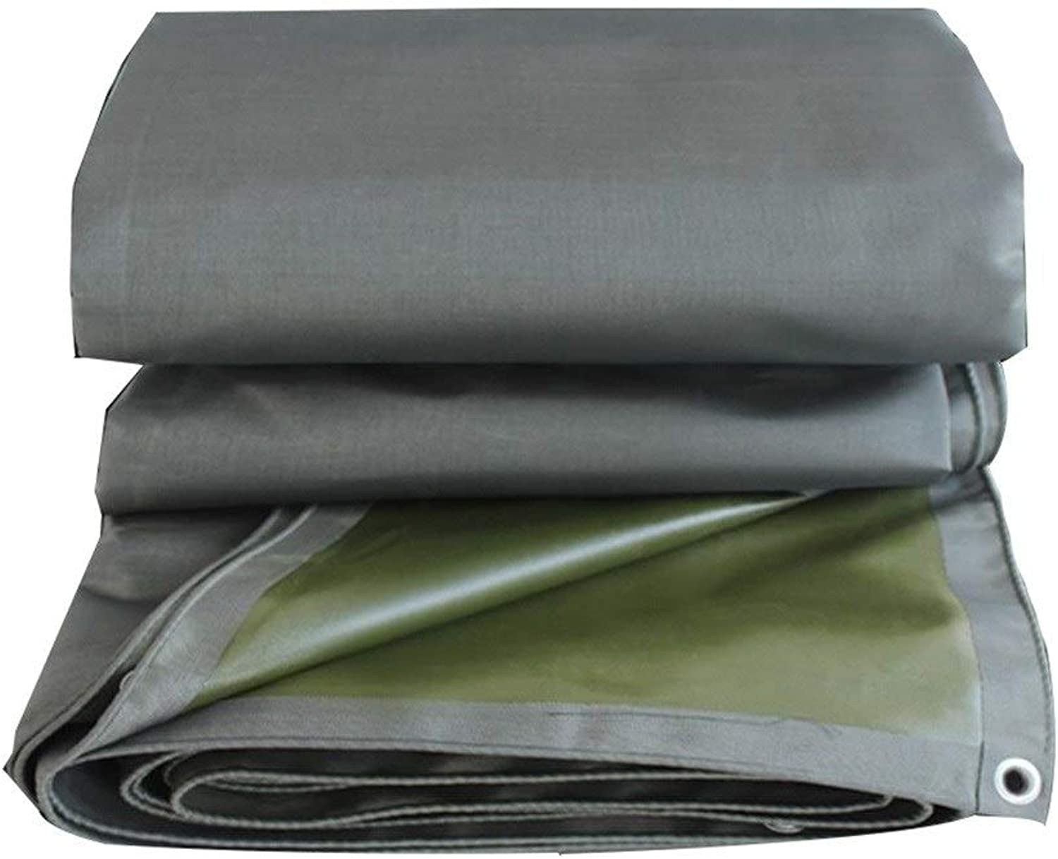 ZHANGQINAG Heavy Duty Thick Material, Waterproof, Great for Tarpaulin Canopy Tent, Boat, RV or Pool Cover (color   A, Size   4mx5m)