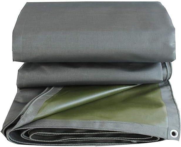 Bache De Prougeection Imperméable, Matériel épais résistant, imperméable, idéal pour bache de Prougeection, Bateau, Camping-Car ou Piscine ZHANGQIANG (Couleur   A, Taille   3mx5m)