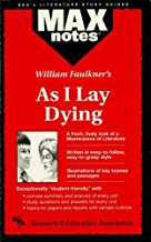 As I Lay Dying (MAXNotes Literature Guides)