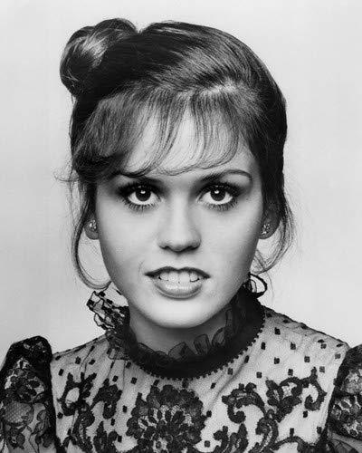 Marie Osmond beautiful young studio portrait in lace dress 1970's 8x10 HD Aluminum Wall Art