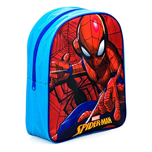 Zainetto Zaino Scuola Elementare Medie Bambino Ragazzo Spiderman Marvel Avengers 30 x 26 x 10 cm