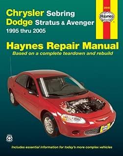 Chrysler Sebring & Dodge Stratus & Avenger 1995 Thru 2005 (Haynes Automotive Repair Manual)