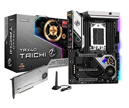ASRock MB TRX40 Taichi AMD Ryzen Threadripper sTRX4 TRX40 Max256GB DDR4 ATX