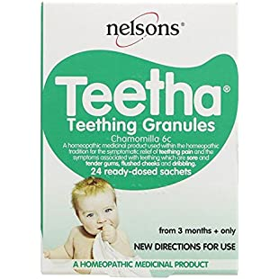 Nelsons Teetha Teething Granules (Pack of 6, Total 144)