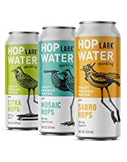 HOPLARK Water - Mixed Pack (12, 16oz. Cans) - Sparkling Hop Water - Organic, Gluten Free, Vegan, Zero Sugar, Zero Artificial Ingredients, Whole30 Approved