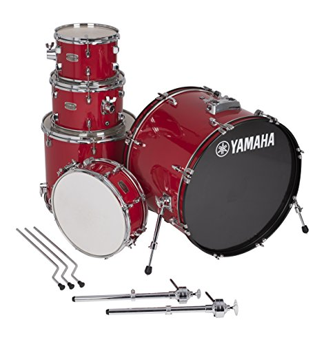 "Yamaha Rydeen 5pc Shell Pack with 22"" Bass Drum, Hot Red"