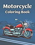 Motorcycle Coloring Book: Motorcycle and Bike Coloring Book For kids Adults Relaxation with Motocross Bike, Race motorcycle, Mountain Bike, Dirt Bike coloring pages unique illustration for men boys