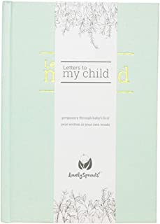 LovelySprouts - Letters To My Child Baby Journal - Pregnancy Journal and Baby Memory Book For the Baby's First Year - Mode...