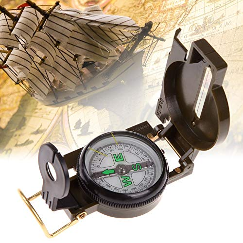Kent MarkS Bussola militare portatile multifunzione lente americano campeggio pieghevole all'aperto