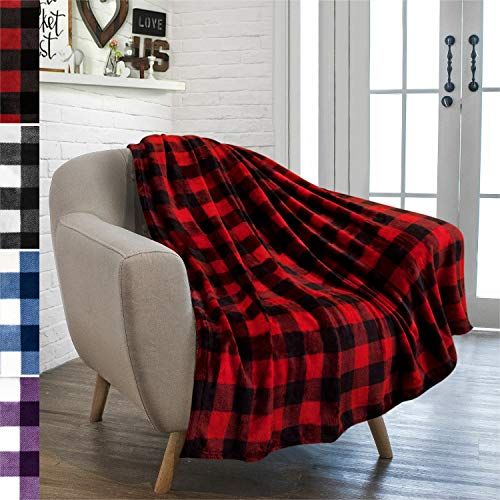 Buffalo Plaid Throw Blanket