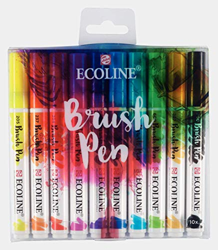 Ecoline WATERCLR Set 10/PKG, One Size