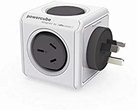 Allocacoc 5200GY/AUOUPC Powercube Original USB Grey- 2 Outlets