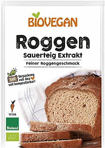 Biovegan Bio Roggensauerteig Extrakt, Bioland, BIO (6 x 30 gr)