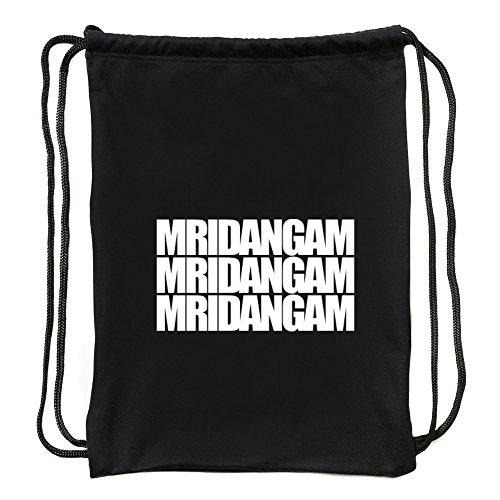 Eddany Mridangam Three Words Turnbeutel