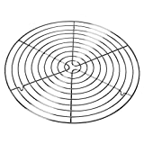 Inhalt: 1x Kuchengitter Ø 32,5 cm - Artikelnummer: 2300769431 Das Gitter aus Edelstahl lässt die Backware gleichmäßig und schnell Auskühlen Das Metall gibt dem Gitter eine hohe Formstabilität und ermöglicht eine leichte Lösbarkeit des Gebäcks Die Stü...