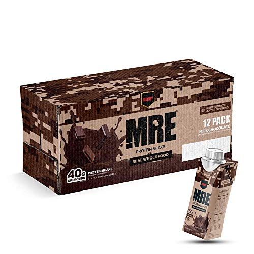 Redcon1 - MRE, Ready to Drink, Protein Shake Milk Chocolate (Case of 12)