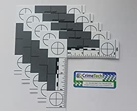 Forensic ABFO No. 2 Photo Scales, Fractional/Inches, Pack of 5 EA