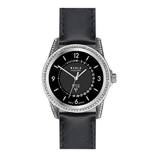 Garde' Uhren aus Ruhla Funkuhr Damenuhr mit Saphirglas FU 96-101 Datum