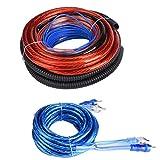 Vikenar 4 Guage 2800W Audio Audio SUBWOOFER Amplificador INSTALACIÓN DE LA INSTALACIÓN Kit DE Cable del Cable del Cable Fuse