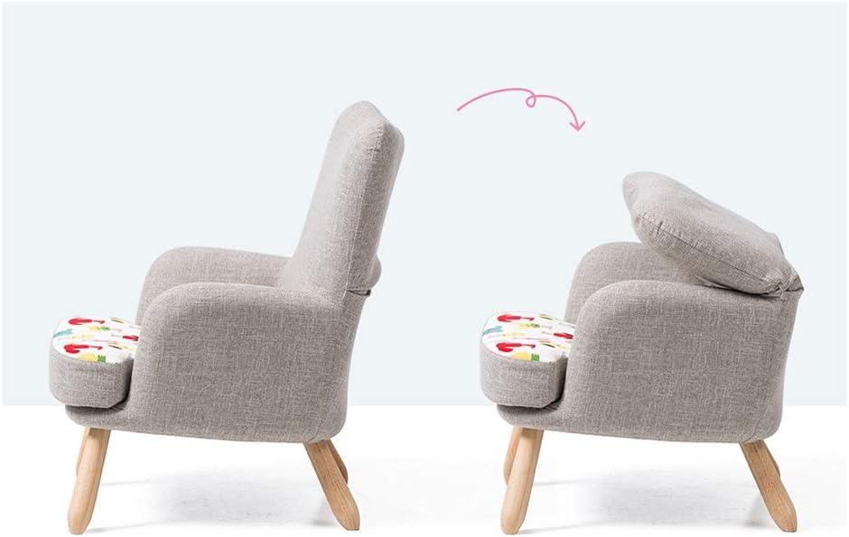TAO Canapé arrière pour Enfants en Tissu Chaise canapé Paresseux Jardin d'enfants à la Maison siège de bébé modèle de Dessin animé Pratique 58,5 × 65 cm (Color : Car) Car
