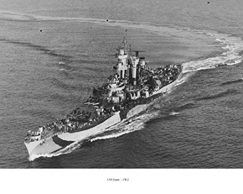 Alaska (CB-1) & Guam (CB-2) - U.S. Navy Battlecruisers in World War 2 - An Alternate History