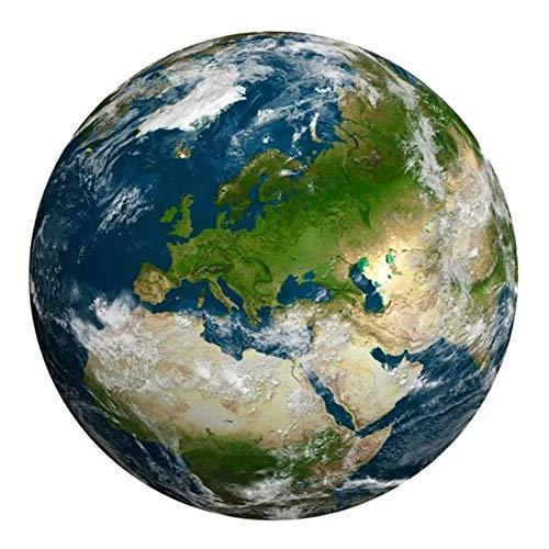 HUAKLIN The Moon and Earth Puzzle Difícil para Adultos Rompecabezas Juguetes Juguetes Educativos Regalos para Niños 1000 Piezas The Moon Puzzle Francia Europa