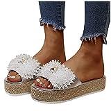 Zapatos mujer plataforma Cuña Verano Chanclas Mujer Verano...