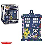 Funko- Doctor Who: Tardis-Clara Memorial Figurina, Multicolore, 9 cm,...