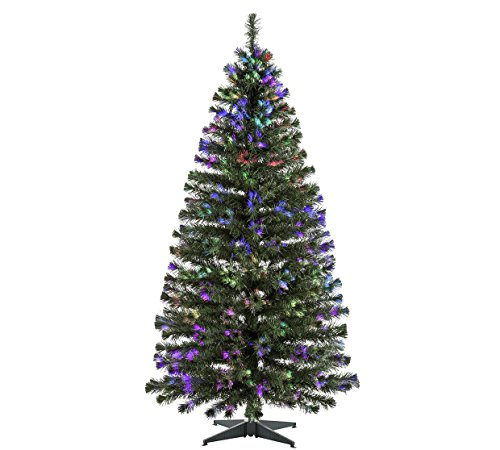 Green Fibre Optic Christmas Tree - 6ft