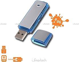 Pen Drive USB 8GB Mini Grabadora de Voz de Audio Flash Micro espía grabadora de Voz espía Cimice