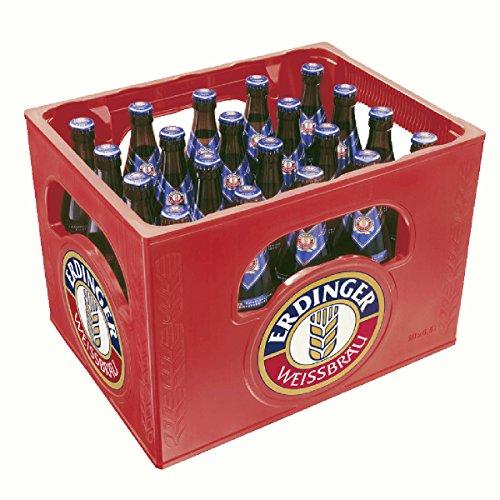 20 x Erdinger Blanco Cerveza sin alcohol 0.5L Caja original