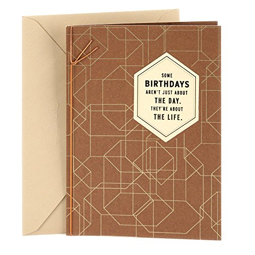 Hallmark Birthday Card for Men (Celebrating You)
