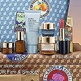 Estee Lauder 2021 7pcs Firm & Smooth Gift Set Includes Revitalizing Supreme+ day & night moisturizers, Advanced Night Repair Serum & Eye Creme