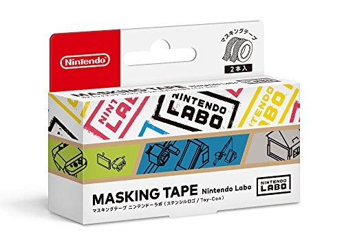 マスキングテープ Nintendo Labo(ステンシルロゴ/Toy-Con)
