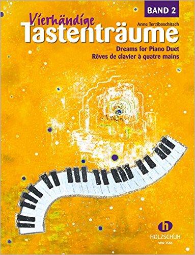 Vierhändige Tastenträume Band 2 - 24 Klavierstücke