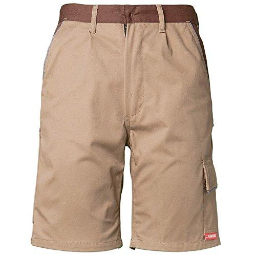 Planam Shorts Highline, größe XXXL, khaki / braun / zink, 2374064