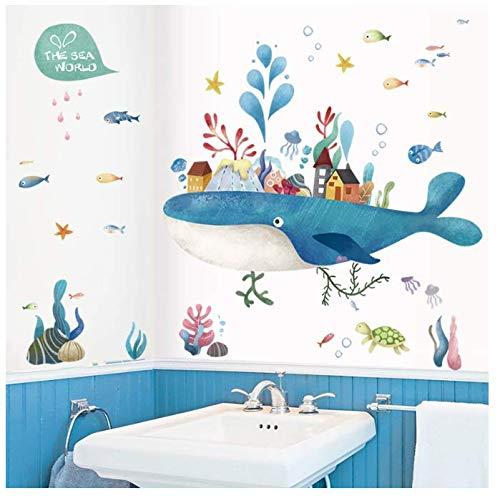 Cartoon Fairy Tale Island Stickers Muraux Enfants Chambre de Bébé Décoration de La Maison Pvc Murale Applique Kindergarten Autocollants Papier Peint Décoration Murale 80 * 100Cm