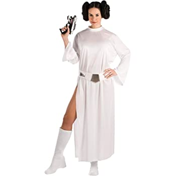 Star Wars - T-888610M - Disfraz de princesa Leia, talla M: Amazon ...