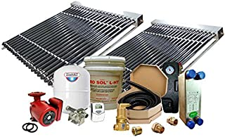 Northern Lights Group Solar Hot Water Retrofit Kit - 2 Collector