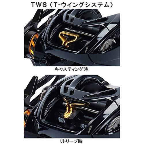 ダイワ(DAIWA)ベイトリールモアザンPETW1000XH-TW2019モデル