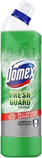 Domex Fresh Guard Lime Fresh Disinfectant Liquid Toilet Cleaner, Colour Changing Formula To Kill All Germs And Gives Fresh...