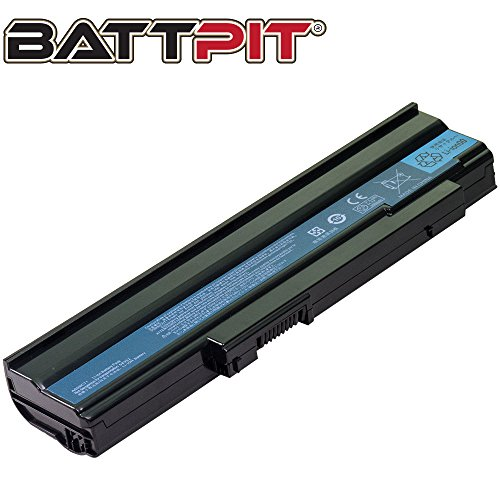BattPit Laptop Battery for Acer/Gateway AS09C31 AS09C70 AS09C71 AS09C71 Extensa 5235 5235Z 5235G 5635 5635G 5635Z 5635ZG - High Performance [6-Cell/4400mAh/49Wh]