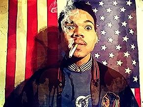 Chance the Rapper Awesome Vintage Pop Art Painting Rap Hip-Hop Smoke Music 32x24 Poster Print